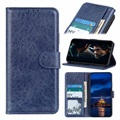 Samsung Galaxy A21s Wallet Case with Magnetic Closure - Blue