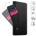 Samsung Galaxy Note9 Wallet Case with Card Holder - Black