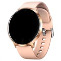 Waterproof Smartwatch with Heart Rate K12 - Rose Gold