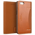iPhone 6/6S Wetherby Premium Basic Wallet Leather Case - Camel Brown