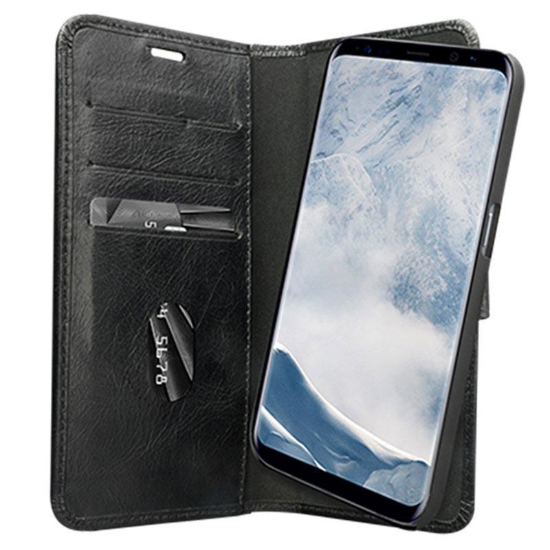 timeless design 1e5a1 4d9ba Samsung Galaxy S8+ dbramante1928 Lynge 2 Wallet Leather Case