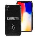 dbramante1928 Tune CC iPhone XR Leather Cover - Black