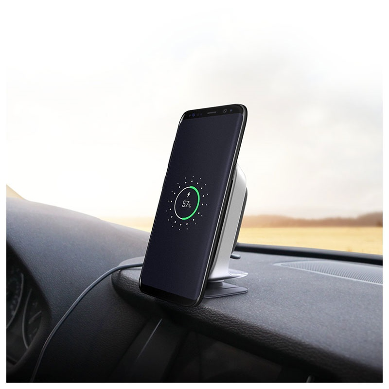 Itap wireless qi fast charging magnetic car mount 13