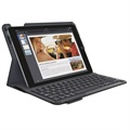 iPad Air 2 Logitech Type+ Bluetooth Keyboard Case - Carbon Black - Nordic Layout