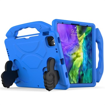 iPad Pro 11 (2021) Kids Carrying Shockproof Case - Blue
