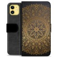 iPhone 11 Premium Wallet Case - Mandala