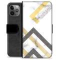 iPhone 11 Pro Max Premium Wallet Case - Abstract Marble