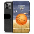 iPhone 11 Pro Max Premium Wallet Case - Basketball