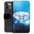 iPhone 11 Pro Max Premium Wallet Case - Diamond