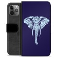 iPhone 11 Pro Max Premium Wallet Case - Elephant
