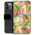 iPhone 11 Pro Max Premium Wallet Case - Pink Flowers