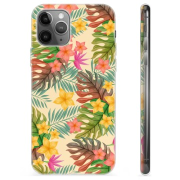 iPhone 11 Pro Max TPU Case - Pink Flowers