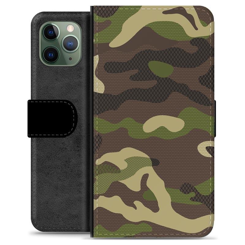 iPhone 11 Pro Premium Wallet Case Camo