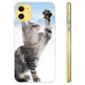 iPhone 11 TPU Case - Cat