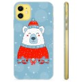 iPhone 11 TPU Case - Christmas Bear
