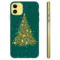 iPhone 11 TPU Case - Christmas Tree