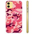 iPhone 11 TPU Case - Pink Camouflage