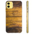 iPhone 11 TPU Case - Wood