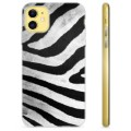 iPhone 11 TPU Case - Zebra
