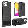 iPhone 12 Pro Max Hybrid Case with Belt Clip - Black
