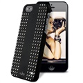 iPhone 5 / 5S / SE Puro Rock Round Studs Case - Black