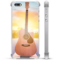 iPhone 5/5S/SE Hybrid Case - Guitar