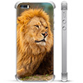 iPhone 5/5S/SE Hybrid Case - Lion