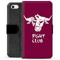iPhone 5/5S/SE Premium Wallet Case - Bull