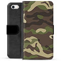 iPhone 5/5S/SE Premium Wallet Case - Camo