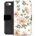 iPhone 5/5S/SE Premium Wallet Case - Floral