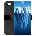 iPhone 5/5S/SE Premium Wallet Case - Iceberg