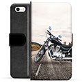 iPhone 5/5S/SE Premium Wallet Case - Motorbike
