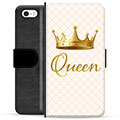 iPhone 5/5S/SE Premium Wallet Case - Queen
