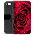 iPhone 5/5S/SE Premium Wallet Case - Rose