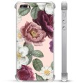 iPhone 5/5S/SE Hybrid Case - Romantic Flowers