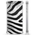 iPhone 5/5S/SE Hybrid Case - Zebra