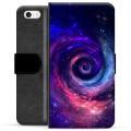 iPhone 5/5S/SE Premium Wallet Case - Galaxy