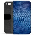 iPhone 5/5S/SE Premium Wallet Case - Leather
