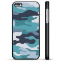 iPhone 5/5S/SE Protective Cover - Blue Camouflage
