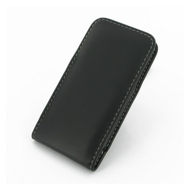 iphone 5 5s se pdair vertical belt clip leather