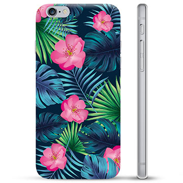 iPhone 6 / 6S TPU Case - Tropical Flower