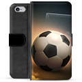 iPhone 6 / 6S Premium Wallet Case - Soccer