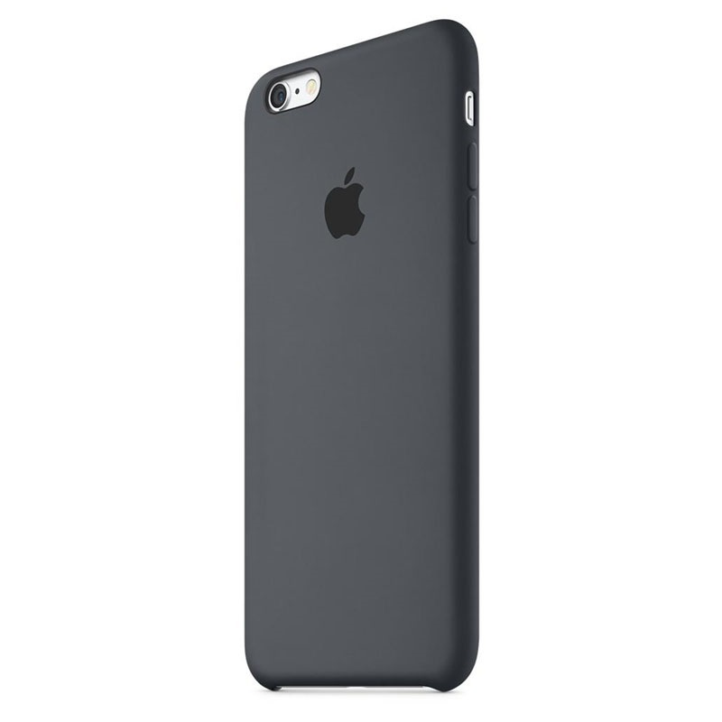 iphone 6 plus 6s plus apple silicone case mkxj2zm a black. Black Bedroom Furniture Sets. Home Design Ideas