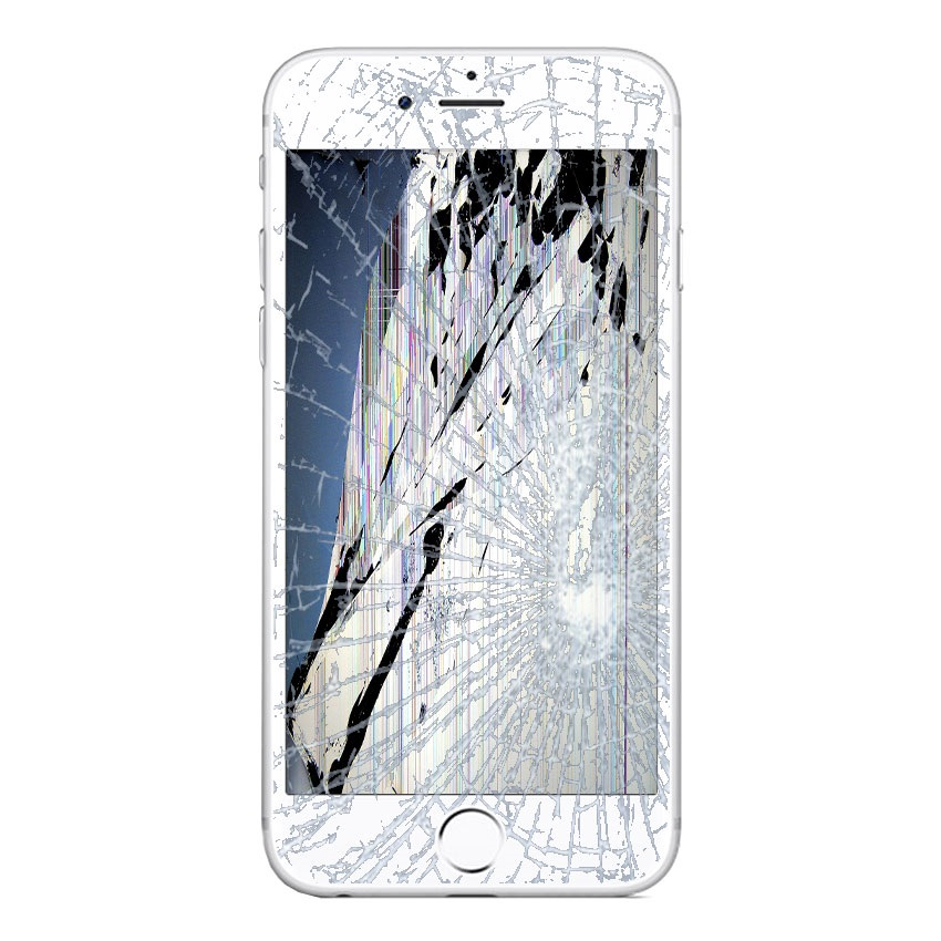 iPhone 6S Plus LCD and Touch Screen Repair - White