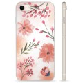 iPhone 7/8/SE (2020) TPU Case - Pink Flowers