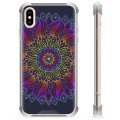 iPhone XS Max Hybrid Case - Colorful Mandala