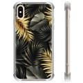 iPhone XS Max Hybrid Case - Golden Leaves