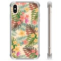 iPhone XS Max Hybrid Case - Pink Flowers