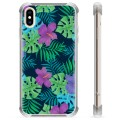 iPhone XS Max Hybrid Case - Tropical Flower