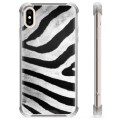 iPhone XS Max Hybrid Case - Zebra